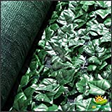 Windscreen4less® 4' x 14' Artificial Faux Ivy Leaf Privacy Fence Screen Decoration Panels Windscreen Patio