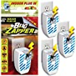 (Set/4) Indoor Outlet Plug-in Mini Bug Zapper - Kill Gnats, Flys, Mosquitoes