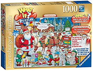 Ravensburger What if? No. 9 Santa & Rudolph