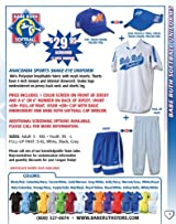 Anaconda Sports® Snake-Eye Jersey, Short and Visor Package (Call 1-800-327-0074 to order)