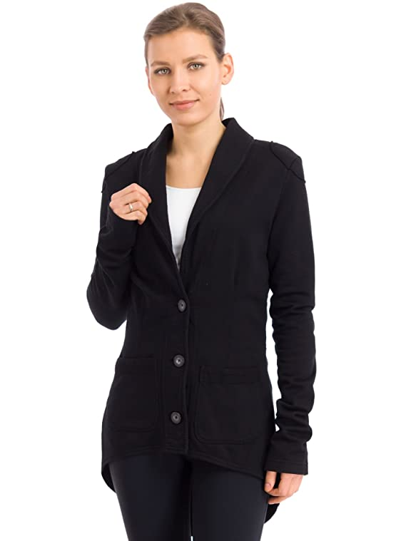 Hard Tail Fitted Tuxedo Hi-Low Jacket