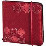 Hama Upto Fashion 24 CD/DVD Nylon Wallet - Red