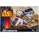 Star Wars A5736 Obi-Wan Jedi Starfighter Vehicle Class II with Missile Launcher