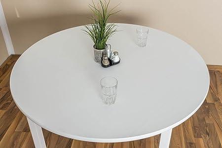 Tisch 120x120 cm, Farbe: Weiß