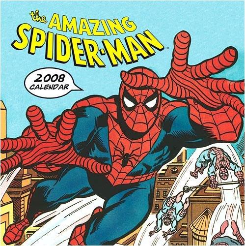 Spiderman Wall (CHRONI) - 2008 Calendar - Buy Spiderman Wall (CHRONI) - 2008 Calendar - Purchase Spiderman Wall (CHRONI) - 2008 Calendar (Calendars, Office Products, Categories, Office & School Supplies, Calendars Planners & Personal Organizers, Wall Calendars)