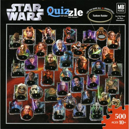 Picture of Hasbro Quizzle Star Wars Jigsaw Puzzle 500pc (B000JLU4GK) (Jigsaw Puzzles)