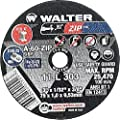 Walter ZIP Performance Cutting and Grinding Cutoff Wheel, Type 1, Round Hole