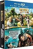 Voyage au centre de la Terre + Voyage au centre de la Terre 2 : l'île mystérieuse [Blu-ray 3D]