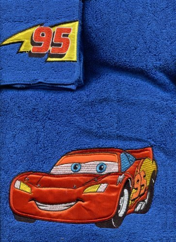 "Disney/Pixar Cars 2-Piece ""Buddies"" Bath/Wash Towel Set"