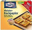 Toppits Meister-Backpapier-Bögen, gefaltet - 12 St.