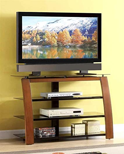 44 in. High TV Console in Cherry