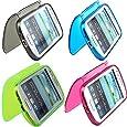 Poposh 4 in1 Schutzh�lle Zubeh�r Set Silikon TPU S-Line Case Tasche Cover H�lle Schutz f�r Samsung Galaxy S4 i9500 -Rosa , Gr�n ,Schwarz, Blau