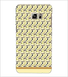 PrintDhaba Key pattern D-1987 Back Case Cover for SAMSUNG GALAXY NOTE 5 EDGE (Multi-Coloured)