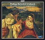 echange, troc Erlebach, Les Amis De Philippe, Remy - Erlebach: Selected Sacred Cantatas