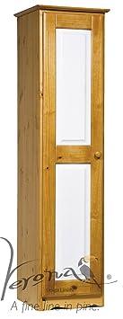 Verona Design Verona 1 Door Wardrobe Antique With White Details