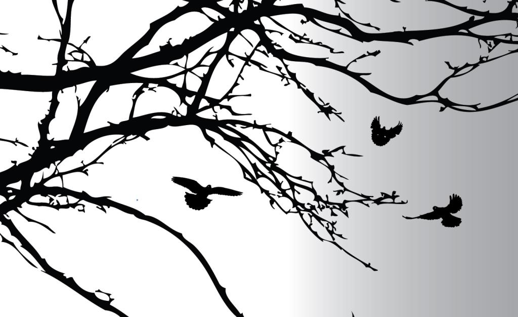 large tree template for wall - printable tree branch stencil the image