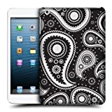 Head Case Black Paisley Patterns Protective Back Case Cover For Apple iPad Mini