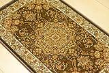 ウィルトン織 玄関マット 室内 ペルシャ絨毯 デザイン マット 約 50X80cm 屋内 室内 ブラウン ペルシャじゅうたん ウィルトン織玄関マット 玄関マット rug mat CARPET 北欧 ラグマット 02M031-50-80br ベルギ- ラグ マット ビスコースヘレケ