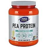 NOW Sports Pea Protein, Vanilla Toffee, 2-Pound
