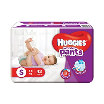 Image result for Huggies Wonder Pants Small Diapers (42 Count)