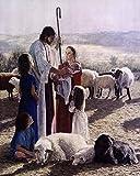 My Shepherd by Sheri Lynn Boyer-Doty Art Print, Size 16 x 20 inches