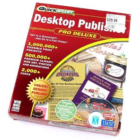 QuickStart Desktop Publisher Pro Deluxe ~ Windows XP & Mac OS X