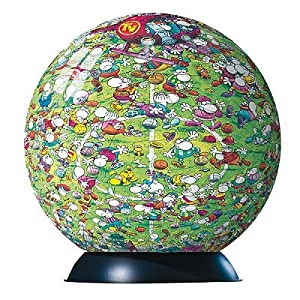 Ravensburger Puzzleball - Mordillo Soccer - 240 pieces