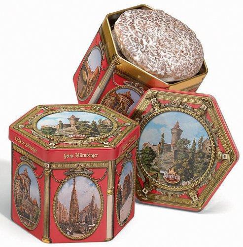 Wicklein Lebkuchen Hexagonal Tin