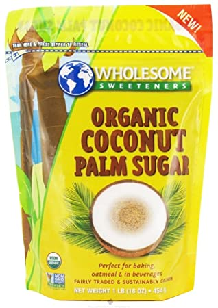 Отзывы Wholesome Sweeteners - Organic Coconut Palm Sugar - 1 lb.