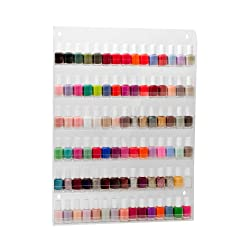 90 Bottles Nail Polish Wall Rack by Fuji