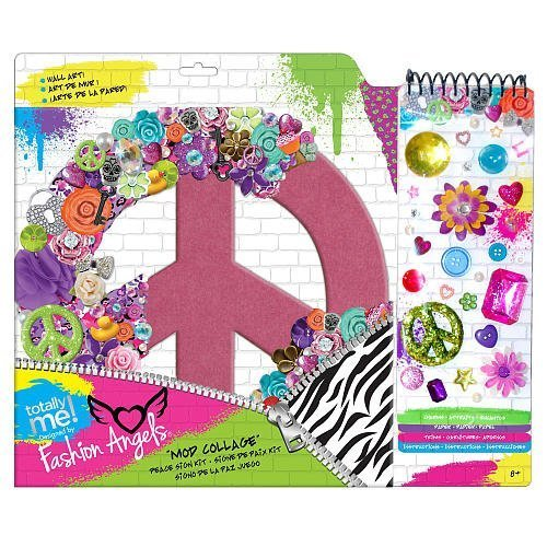 Totally Me! Fashion Angels Collage Peace Sign by Toys R Us