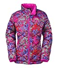 The North Face Aconcagua Jacket Girl's Metallic Silver Print L