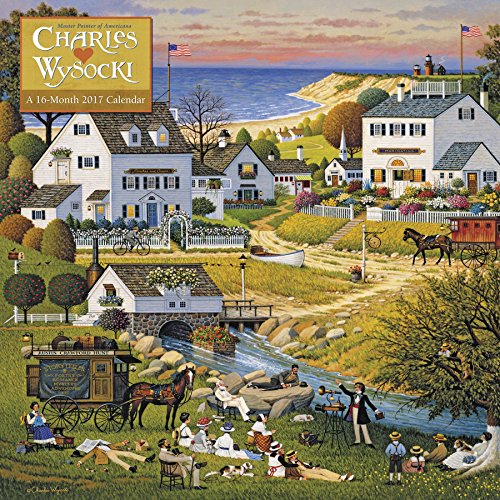 Charles Wysocki Wall Calendar (2017)