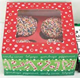 Cupcake Boxes Christmas Candy Toss- Pack of 2