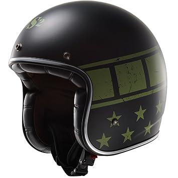 LS2 de 583 Kurt Matt Black casque de moto