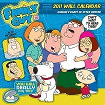 Family Guy Wall Calendar 2011