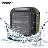 InnooTech Wasserdichter Bluetooth Lautsprecher - Wireless Tragbarer Lautsprecherbox Stereo Speaker