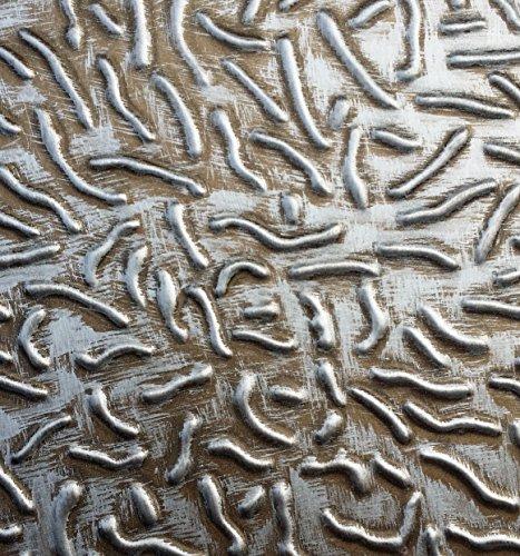 PL02 imitation peinture 3D dalles de plafond en gaufrage Cuivre ancien Café pub shop Panneaux muraux de décoration 10pieces/lot