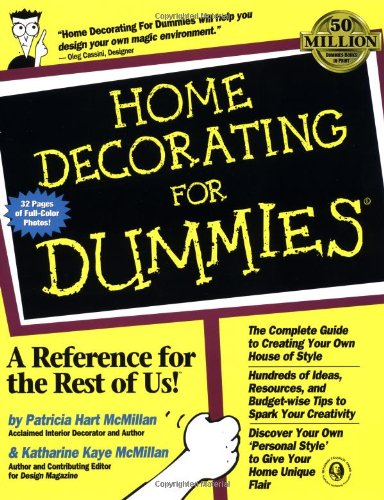 Home Decorating For Dummies? (For Dummies (Computer/Tech))