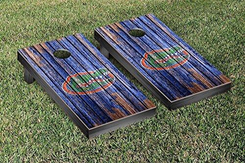 Florida UF Gators Cornhole Game Set Weathered Version (Florida Gators Corn Hole compare prices)