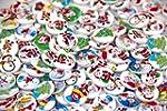 Christmas Pattern Pack of 100pcs shap...