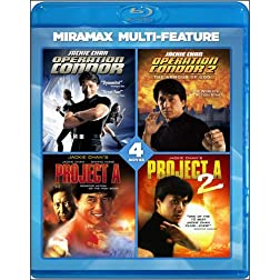 Jackie Chan 4 Film Collection [Blu-ray]