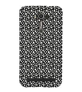 EPICCASE raining hearts Mobile Back Case Cover For Asus Zenfone Go (Designer Case)