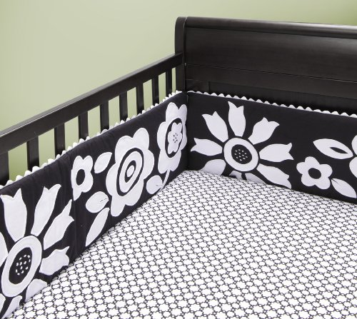 Black And White Crib Sheets front-38387