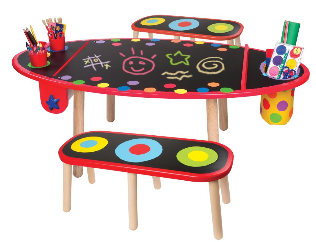 alex toys artist studio super art table with paper roll toys games. Black Bedroom Furniture Sets. Home Design Ideas