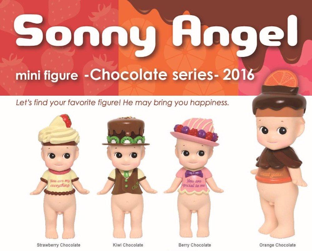 Sonny Angel Japanese Style Mini Figure Figurine 2016 Chocolate Series Set