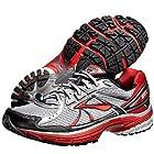Brooks Mens Adrenaline Running Shoes GTS 13 Color: Wht/Anthrct/Blk/Lava/Slvr Size: 14.0