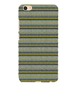 Net Pattern Design Cute Fashion 3D Hard Polycarbonate Designer Back Case Cover for vivo X7L