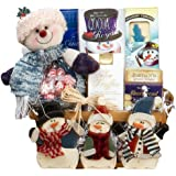 Art of Appreciation Gift Baskets Frosty and Friends Christmas Holiday Snowman Gift Basket