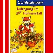 Aufregung im Hühnerstall (Schlaumeier 2) Hörspiel von Lisa Fuchs, Rüdiger Sornek Gesprochen von: Volker Freibott, Steffi Dietz